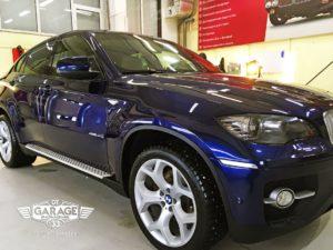 На фото BMW Х6 е70 – демонстрация результата обслуживания.