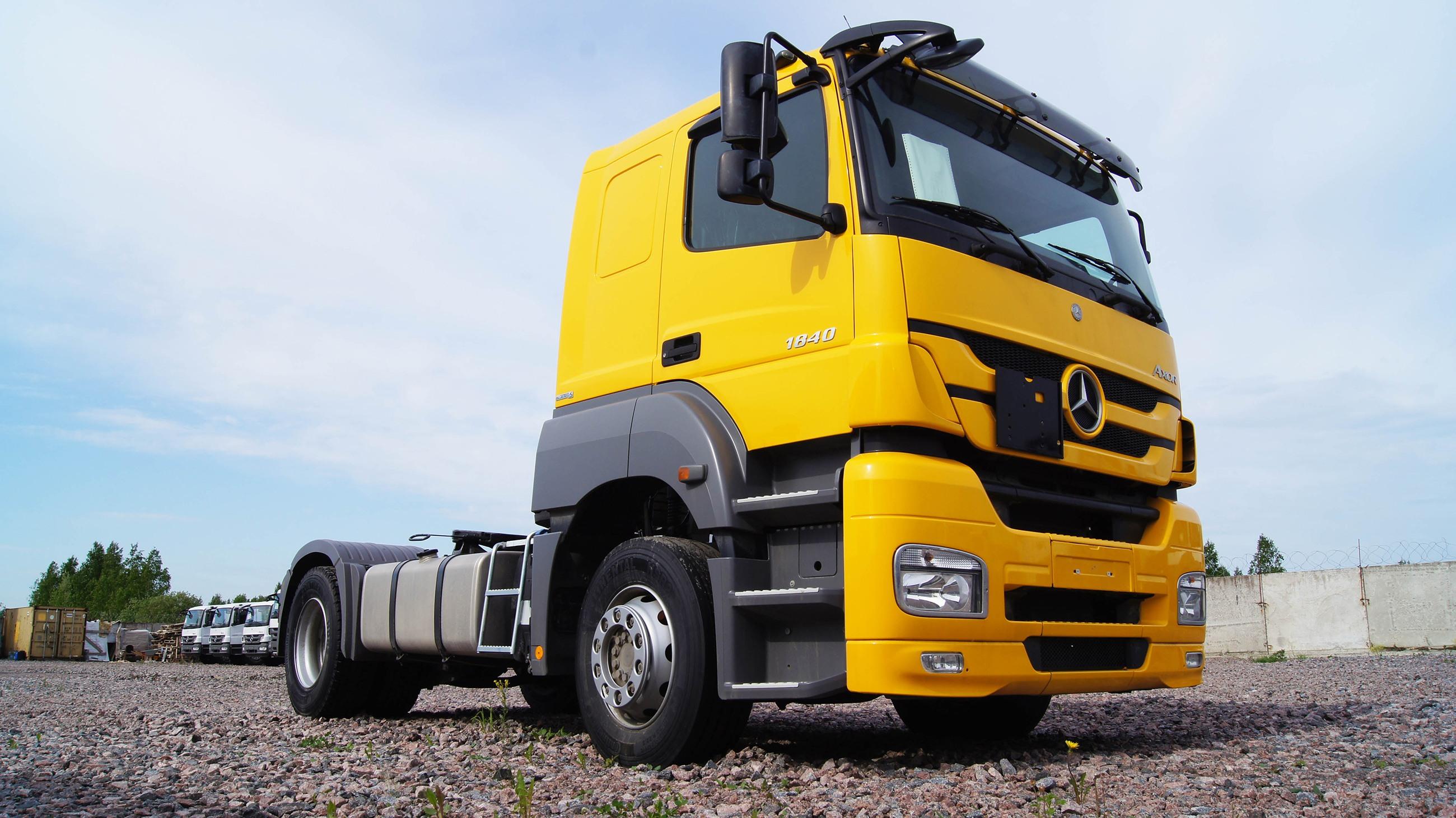 Где полируются грузовики