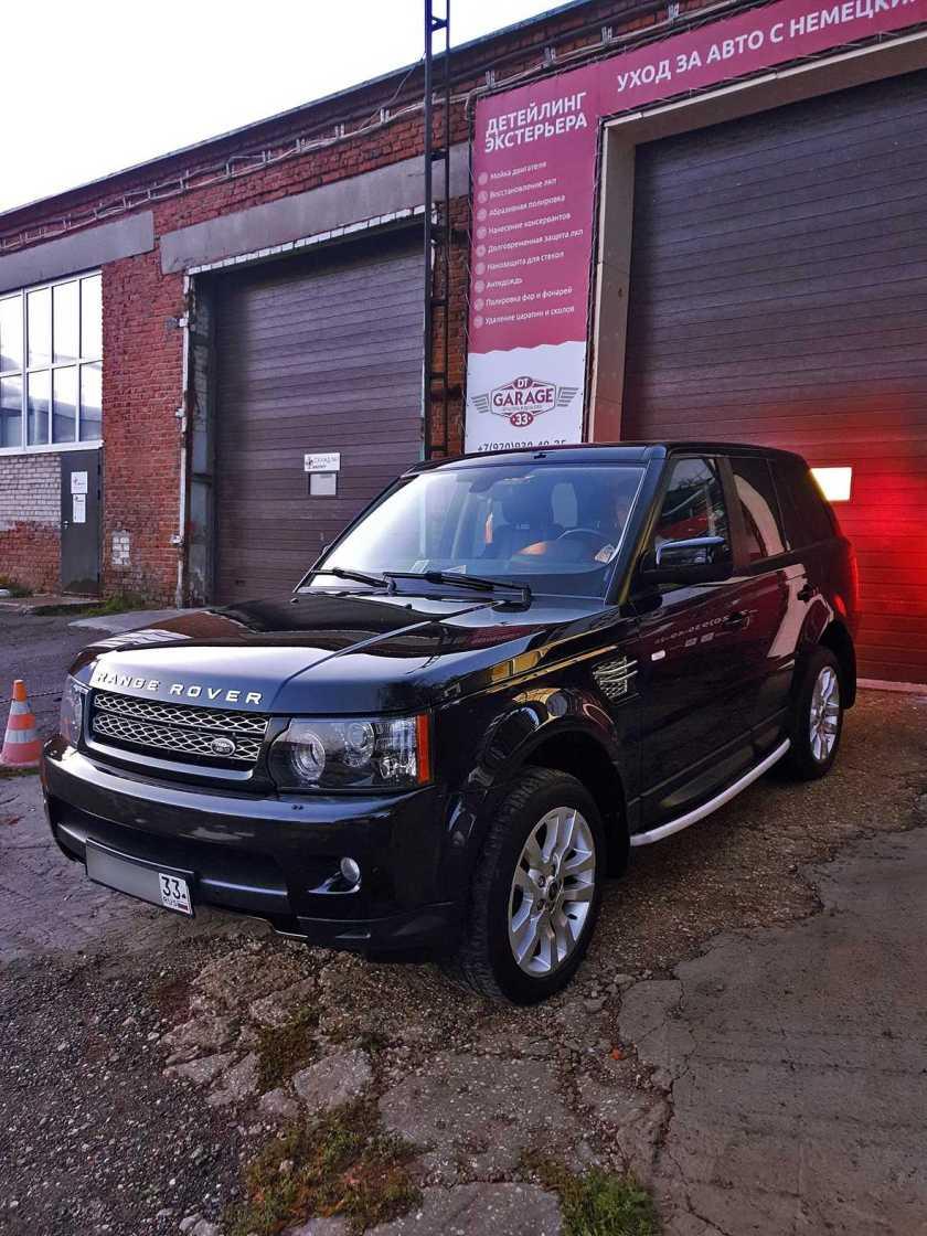 Пример полировки Range Rover Sport в мастерской DT GARAGE 33 в городе Владимир