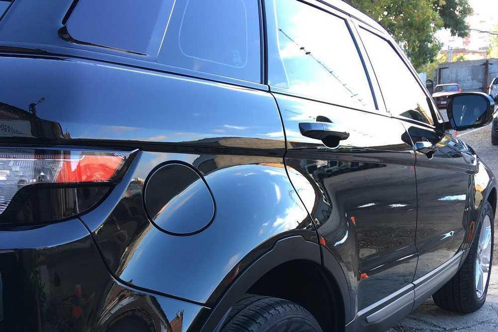 Смотреть фото Range Rover Evoque после полировки