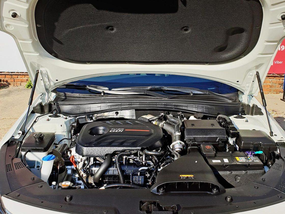На фото мотор после обработки составом-консервантом.