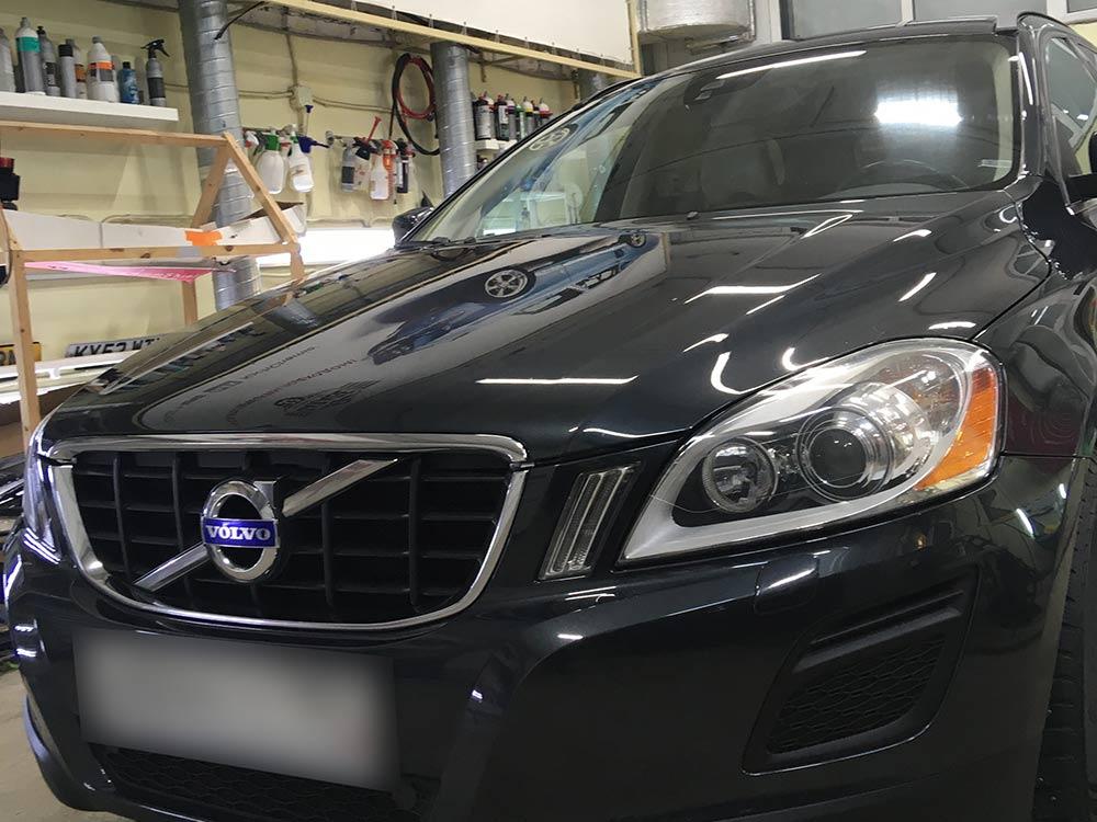 Смотреть на фото Volvo XC60 после реставрации в детейлинге DT GARAGE 33.