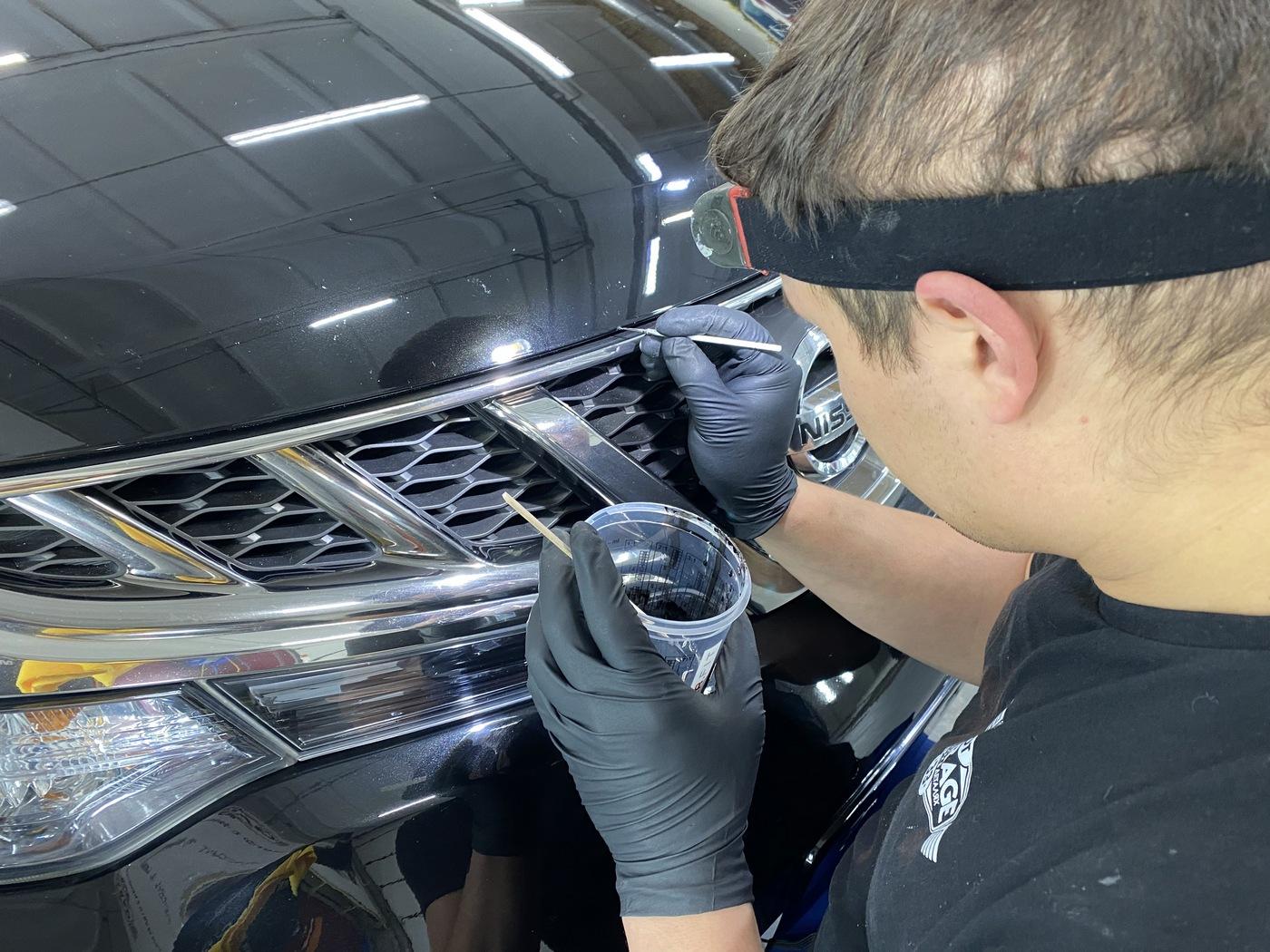 Защита кузова автомобиля керамикой в городе Владимире. Где делают? Куда ехать?