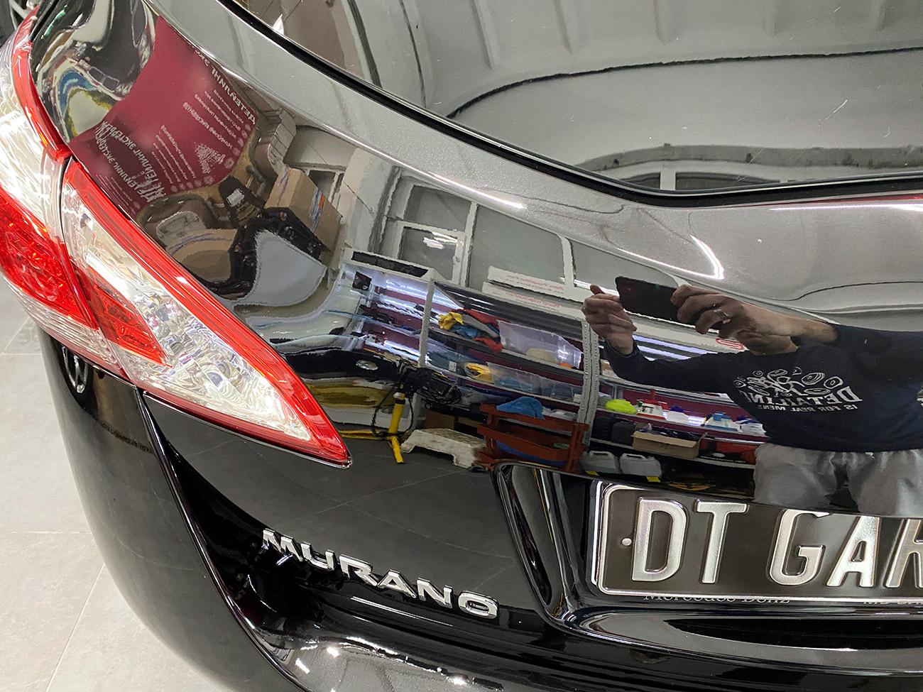 Смотреть Ниссан Мурано до и после полировки. Пример работы мастеров владимирского детейлинга «DT GARAGE 33».