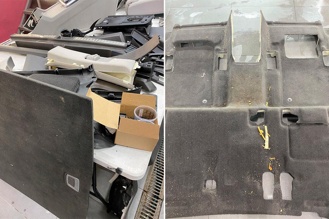 Каким был салон у Mercedes-Benz ML до химчистки? Смотреть на фото!