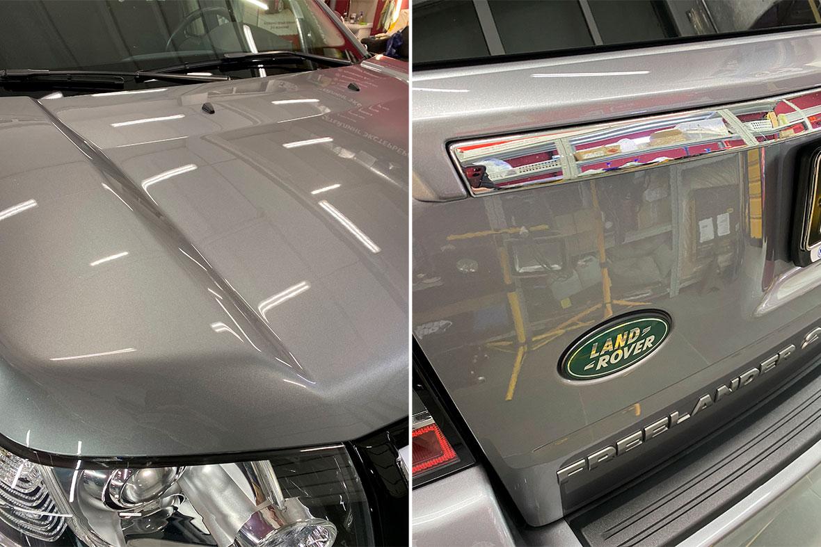 Как меняется автомобиль после обработки керамикой – смотреть эффект на фото.