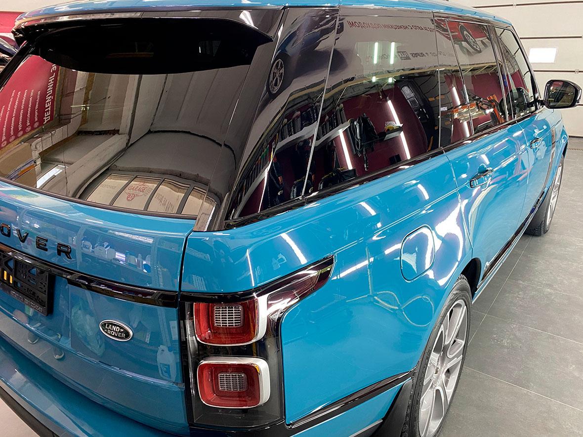 Защита керамикой внедорожника Range Rover Fifty.